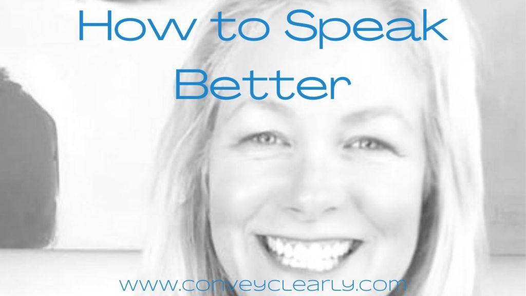 how to speak better with ita olsen