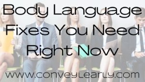 how to fix body language