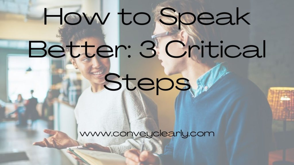 how to speak better