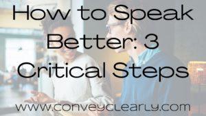 how to speak better