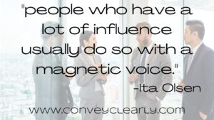 speak better with a magnetic voice