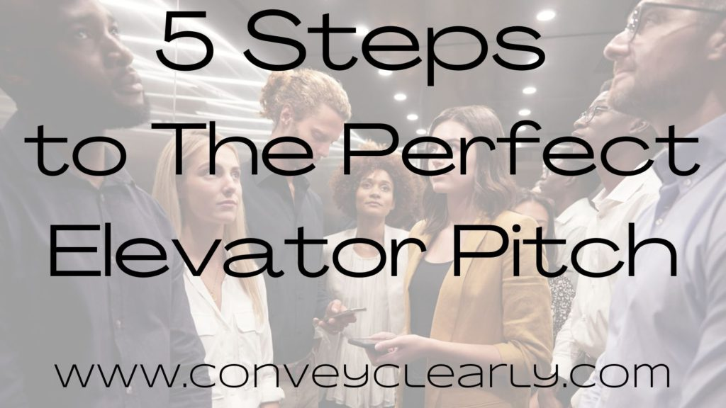 how to have elevator pitch