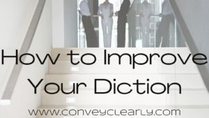 how to improve your diction
