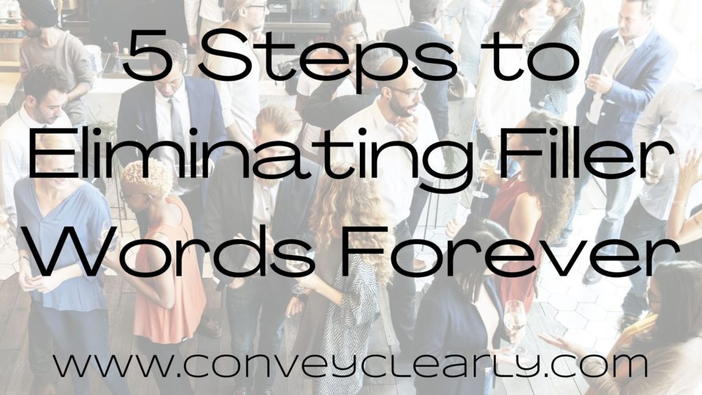 eliminate filler words