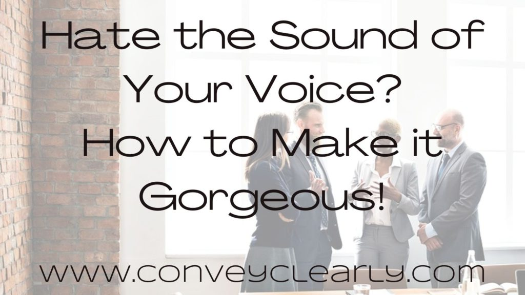 how to make your voice gorgeous