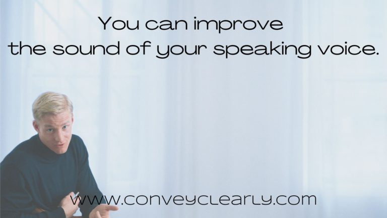 how to improve the sound of your voice