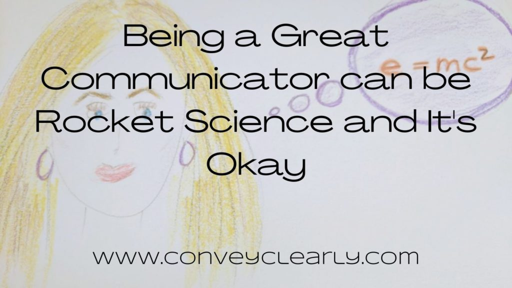 being a great communicator