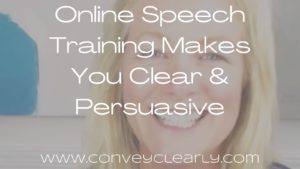 online speech training with ita olsen