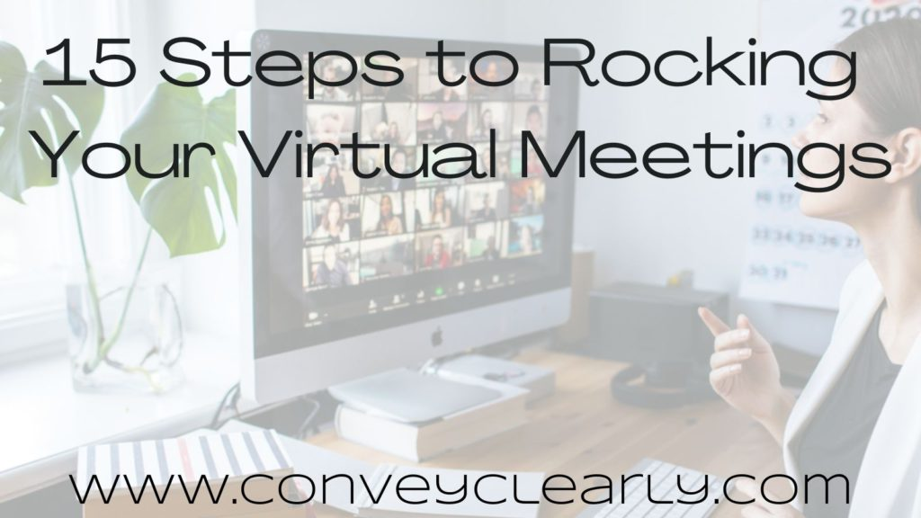 how to succeed at virtual meetings