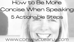 how to be more concise