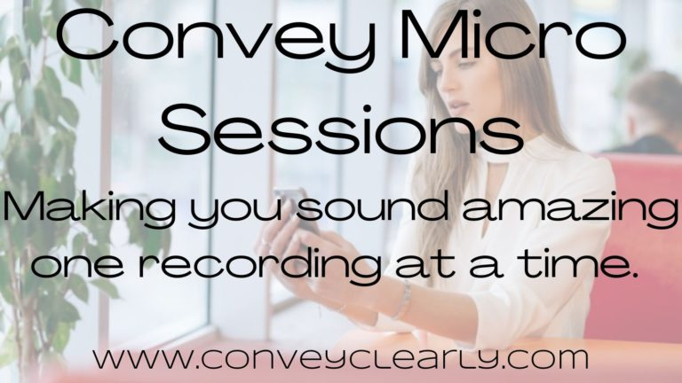 convey micro sessions