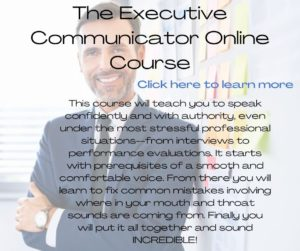 the executive communicator with convey