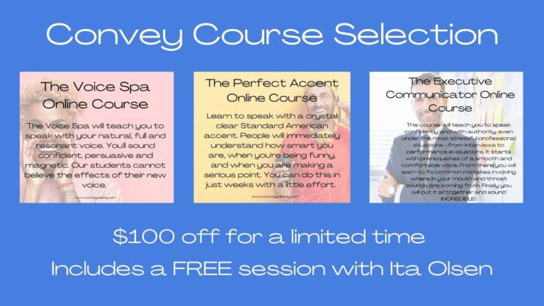 convey course lineup