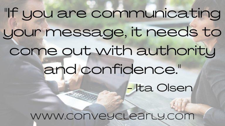 how to speak with authority