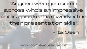 public speaking with ita olsen