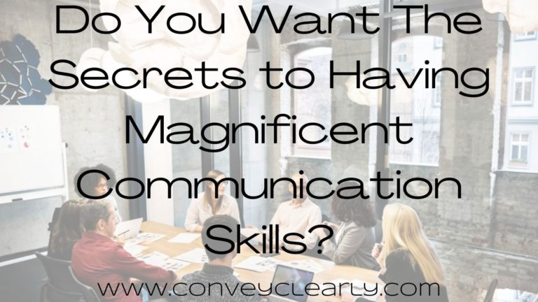 how to have amazing communication skills