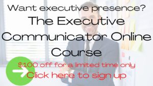 Executive Communicator Online Course