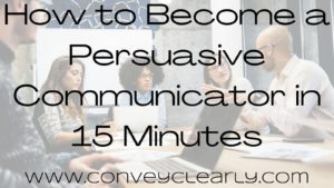 how to become a persuasive speaker