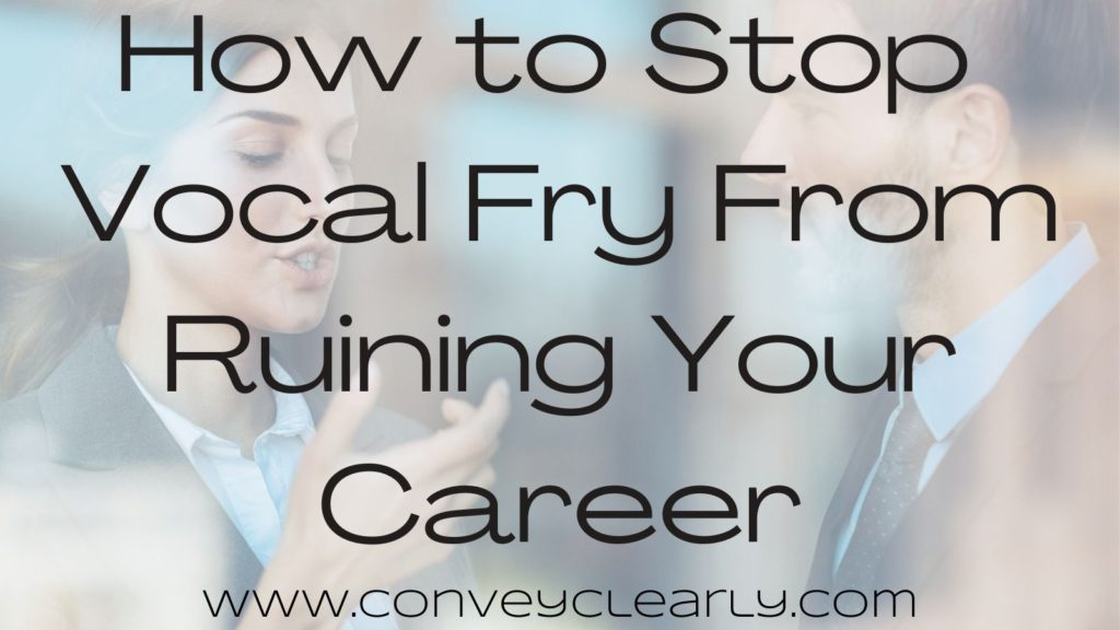 how to stop vocal fry