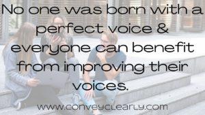 speech improvement with convey