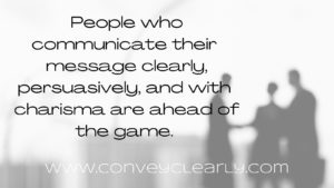 be a persuasive speaker