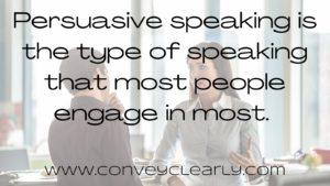 how to speak persuasively