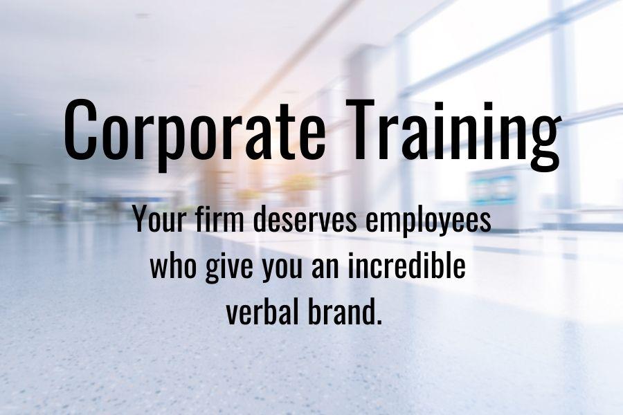 Convey corporate training