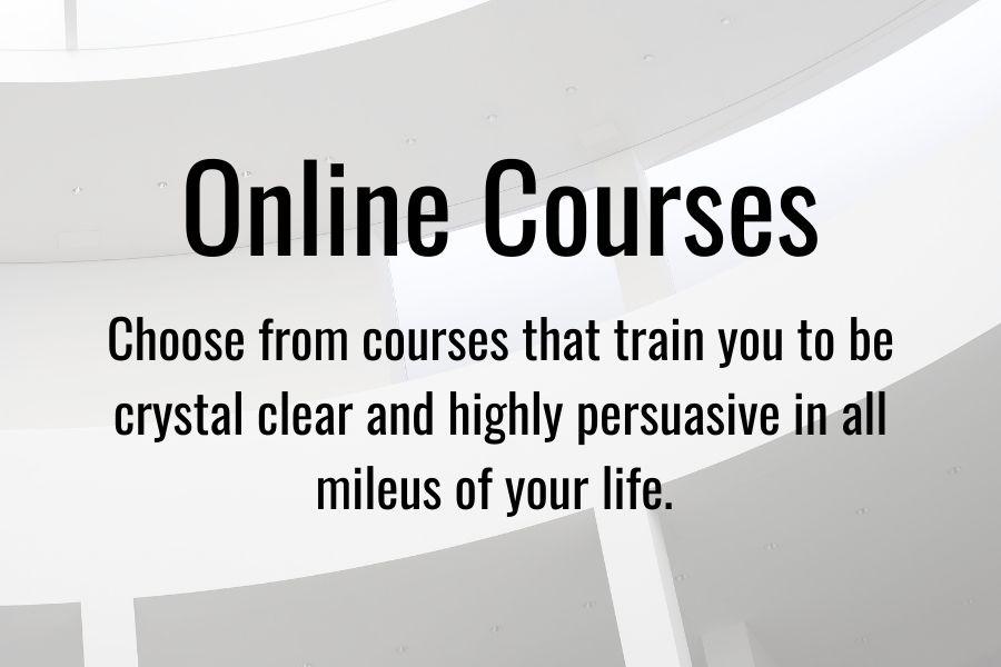 Convey online courses
