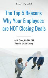 the top 5 reasons why your employees are not closing deals e-book
